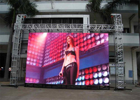 Waterproof P4.81mm 500*1000mm Cabinet Stage LED Screens For Events Aluminum Cabinet Material
