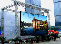 Super Wide Angle P3.91 Outdoor Rental LED Display 500*500mm cabinet For Bus Stations 1920Hz